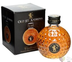 "Golf Edition "" Clubhouse "" blended Scotch whisky by Old St. Andrews 40% vol.   0.05 l"