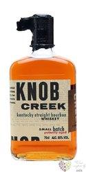 "Knob Creek "" Patiently aged "" small batch bourbon whiskey 50% vol.   0.70 l"
