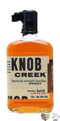 "Knob Creek "" Patiently aged "" small batch bourbon whiskey 50% vol.   1.00 l"