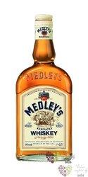Medley´s Kentucky straight bourbon whiskey 40% vol.    1.00 l