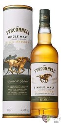 Tyrconnell single malt Irish whiskey 40% vol.    1.00 l