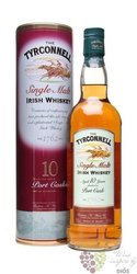 "Tyrconnell "" Port cask finish "" aged 10 years single malt Irish whiskey 40% vol.    0.70 l"