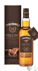 "Tyrconnell "" Madeira cask finish "" aged 15 years single malt Irish whiskey 40% vol.  0.70 l"