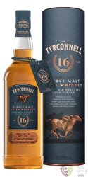 "Tyrconnell "" Moscato & Oloroso cask "" aged 16 years single malt Irish whiskey 46% vol.   0.70 l"