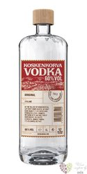 "Koskenkorva "" Original "" strong premium plain vodka of Finland 60% vol.  1.00 l"