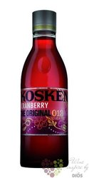 "Koskenkorva "" Original Cranberry 013 "" flavored vodka of Finland 21% vol.     0.70 l"