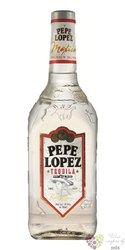 """Pepe Lopez """" Silver """" original Mexican mixto tequila 38% vol.  1.00 l"""