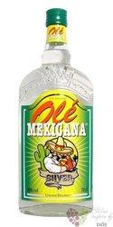 """Olé Mexicana """" Silver """" original Mexican mixto tequila 38% vol. 0.70 l"""