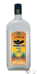 "Sombrero Negro "" Silver "" original Mexican mixto tequila 38% vol.    1.00 l"