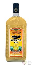 "Sombrero Negro "" Gold "" original Mexican mixto tequila 38% vol.    1.00 l"
