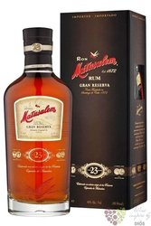 "Matusalem "" Grand reserva "" aged 23 years solera blend Cuban rum 40% vol.  0.70l"