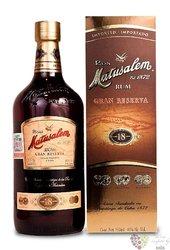 "Matusalem "" Gran reserva "" aged 18 years Cuban rum 40% vol.  0.70 l"