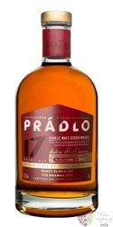 """Prádlo 2002 """" Velvet revolution """" aged 17 years Bohemian single malt whisky 41.7% vol.  0.70 l"""