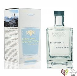 "Godet "" Antarctica Icy white "" Folle blanche Cognac Aoc 40% vol.  0.50 l"