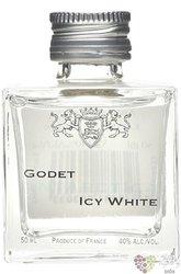 "Godet "" Antarctica Icy white "" Folle blanche Cognac Aoc 40% vol.  0.05 l"