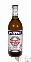 Brillanis French aperitif anise pastis de Marseille 45% vol.     1.00 l