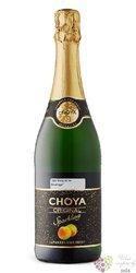 Choya Original Sparkling Japanese ume fruits liqueur 5,5% vol.  0.70 l