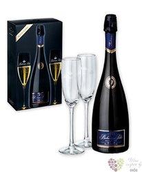 "Bohemia sekt blanc "" Prestige "" blanc Brut 2glass pack Czech sparkling wine    0.75 l"