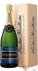 """Nicolas Feuillatte blanc """" Réserve """" brut Champagne Aoc magnum  1.50 l"""