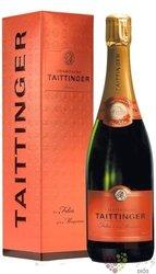 """Taittinger blanc """" les Folies de la Marquetterie """" brut Champagne Aoc    0.75 l"""
