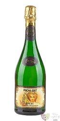 Mucha sekt blanc demi sec czech sparkling wine  0.75 l