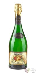 Mucha sekt blanc brut czech sparkling wine  0.75 l