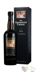 """Delaforce 10 years old """" His Eminence´s Choice """" aged tawny Porto Do 19% vol.  0.75 l"""