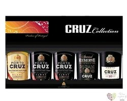 "Cruz "" Collection "" exclusive set Porto Doc 19% vol.   5 x 0.05 l"