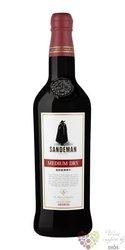 "Sherry de Jerez "" Medium dry "" Do Sandeman 15% vol.   1.00 l"