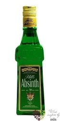 "Absinth "" Hills "" Czech spirits by Hill´s distillery 70% vol.    0.35 l"