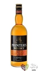 Printer´s 6 years oold Blended Scotch whisky by Stock 40% vol.    0.50 l