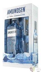 "Amundsen "" Expedition 1911 "" 2glass pack Czech vodka by Stock 40% vol.  0.50 l"