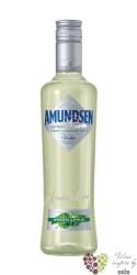 "Amundsen "" Green apple "" fruit liqueur with vodka by Stock 16% vol.    1.00 l"