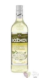 """Božkov """" Bezinka """" Bohemian flavored vodka Stock 15% vol.    1.00 l"""
