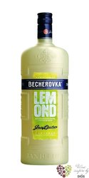 "Becherovka "" Lemond "" original lemon liqueur Jan Becher Carlsbad 20% vol.     1.00 l"