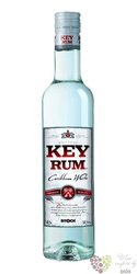 "Key "" White "" Caribbean rum 37.5% vol.  0.50 l"