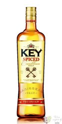 "Key "" Spiced gold "" Caribbean flavored rum by Stock Božkov 35% vol.   1.00 l"