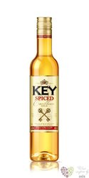 "Key "" Spiced gold "" Caribbean flavored rum by Stock Božkov 35% vol.    0.50 l"