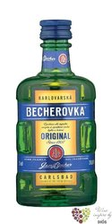 "Becherovka "" Original "" since 1807 Jan Becher Carlsbad 38% vol.    0.05 l"