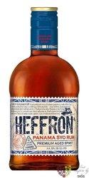 Heffron aged 5 years Panamas rum 38% vol.  0.70 l