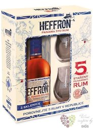 Heffron aged 5 years Panamas rum 38% vol.  0.50 l