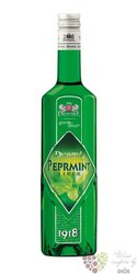 Peppermint Czech liqueur distilery Dynybyl 20% vol.   0.50 l