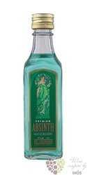 "Absith "" Premium "" original Czech spirits by Rudolf Jelínek Vizovice 70% vol. 0.05 l"