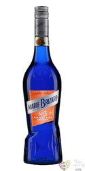 "Marie Brizard "" Curacao blue "" French fruits liqueur 25% vol.    0.70 l"