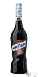 """Marie Brizard no.41 """" Cocoa brown """" French liqueur 25% vol.  0.70 l"""