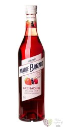 """Marie Brizard cordial """" Grenadine """" French coctail sirup 00% vol.  0.70 l"""