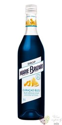 """Marie Brizard cordial """" Curacao bleu """" French fruits syrup 00% vol.  0.70 l"""