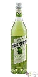 "Marie Brizard cordial "" Citron Vert "" French lime juice 00% vol.  0.70 l"