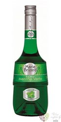 "Marie Brizard "" Creme de Menthe Green "" French herbal liqueur 25% vol.  0.05 l"
