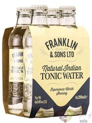 "Franklin & Sons "" Indian "" English tonic water 4x0.20 l"